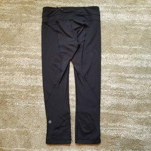 Lululemon Black Crop Leggings *Flaws*